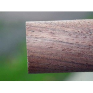 "0875: 2 Pcs. 7/8"" x 36"" Walnut Dowel Rods"
