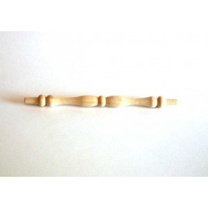 "S-0600: 5-3/4"" x 1/2"" Northern Hardwood Spindle w/1/4"" Tenons"