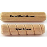 "3/8"" X 1"" Birch Dowel Pins"