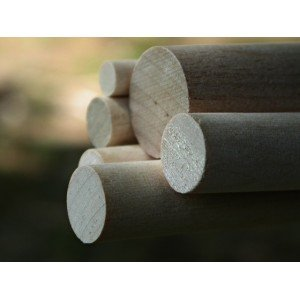 "7/8"" x 12"" Birch Dowels"