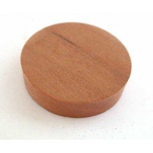 "1"" Cherry Side Grain Plugs"