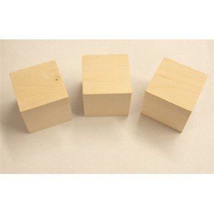 "2-1/4"" Maple Cubes - 25 Pcs."
