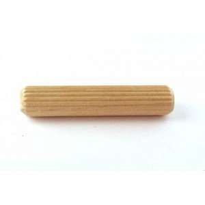 "1/4 x 2-1/2"" Fluted Wood Dowel Pins"